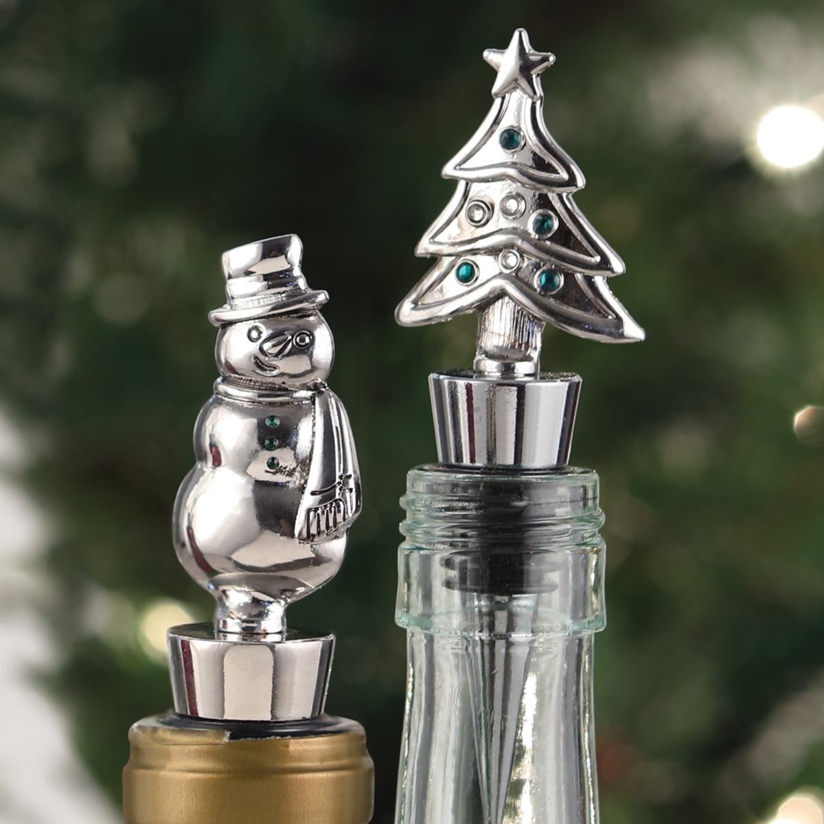 Christmas Bottle Stopper Set