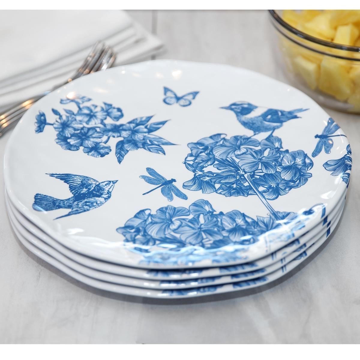 Indigo Dinner Plates