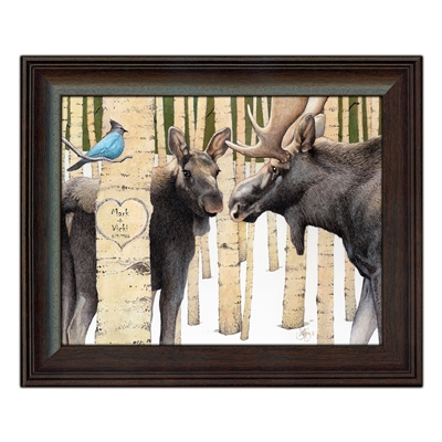Moose Personalized Print