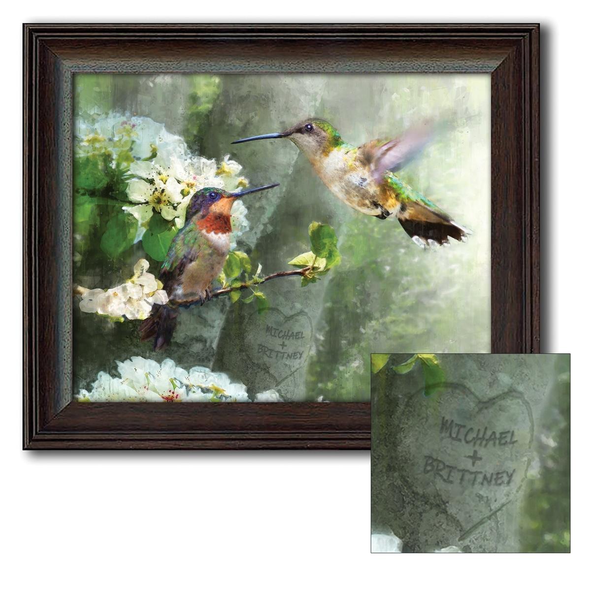 Hummingbird Personalized Art