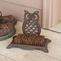 Owl Boot Scrubber