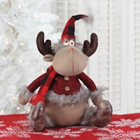 Seated Whimsical Moose