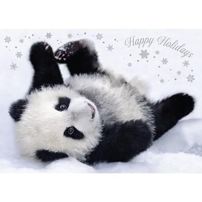 Posing Panda Card