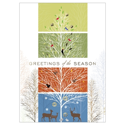 Changing of the Seasons Card