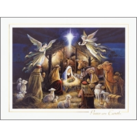 In the Manger Card