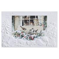 Christmas Kittens Card