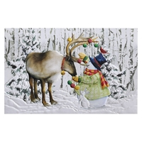 Ornamental Reindeer Card