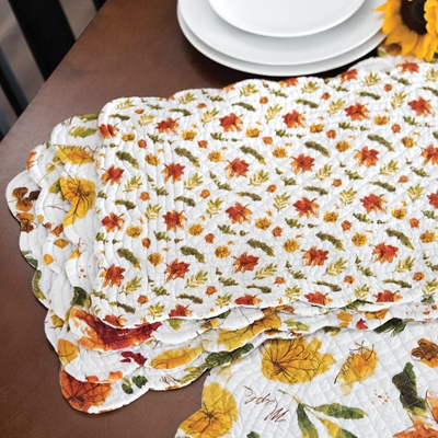 Fall Leaves Placemat Set