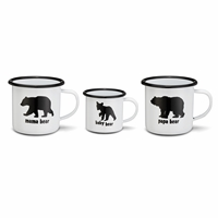 Bear Family Mug Set