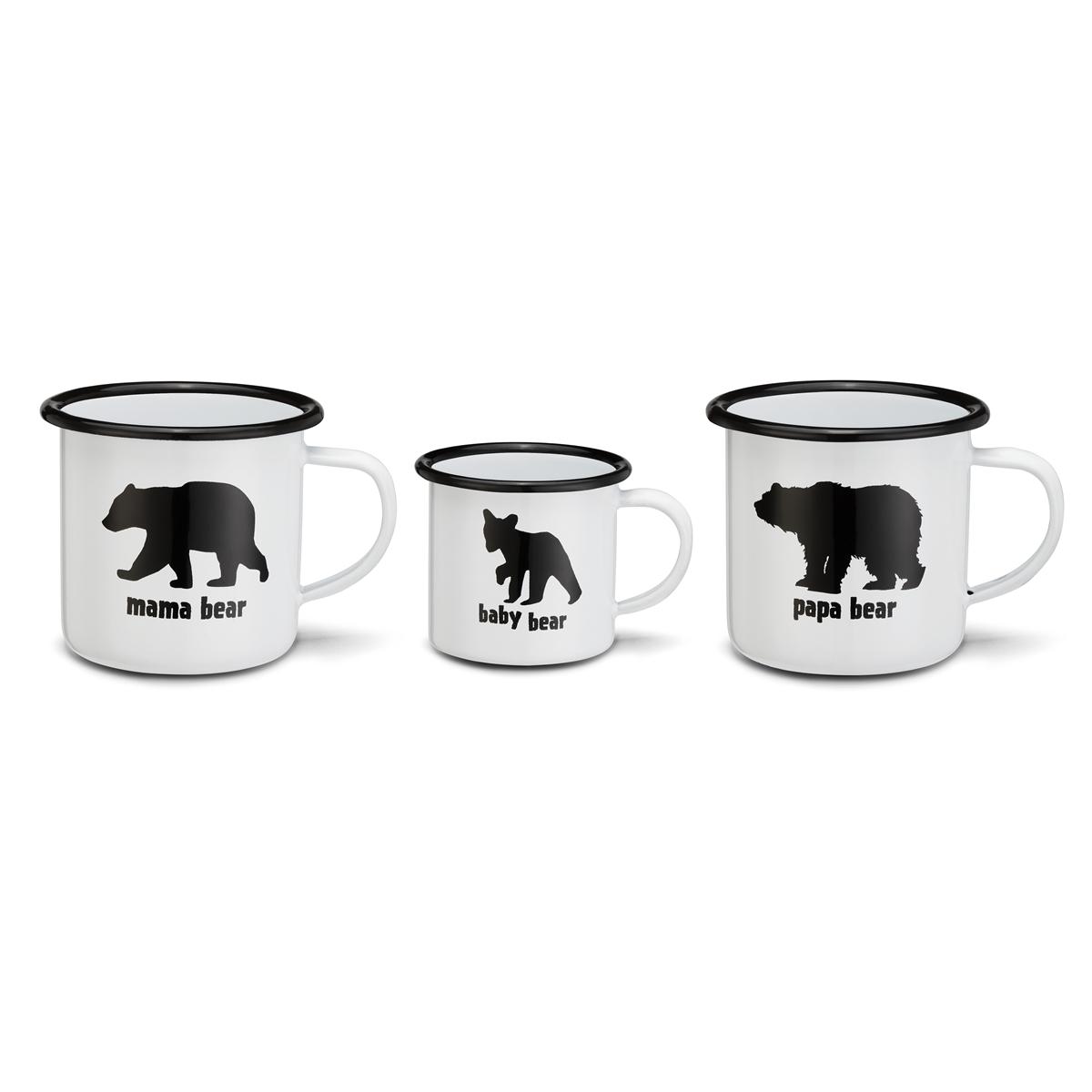 Bear Family Mug Set