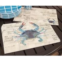 Blue Crab Placemat Set