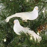 Dove Clip Ornaments
