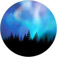 Aurora Borealis Envelope Seals