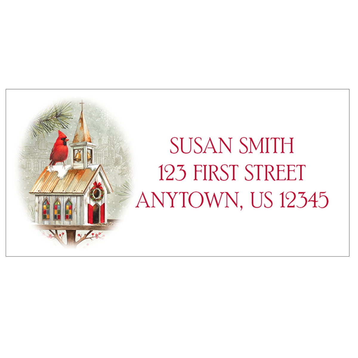 Woodland Celebration Address Labels