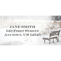 Winter at Rest Address Label