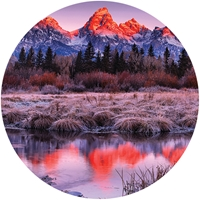 Sunrise Reflections at Grand Teton Envelope Seal