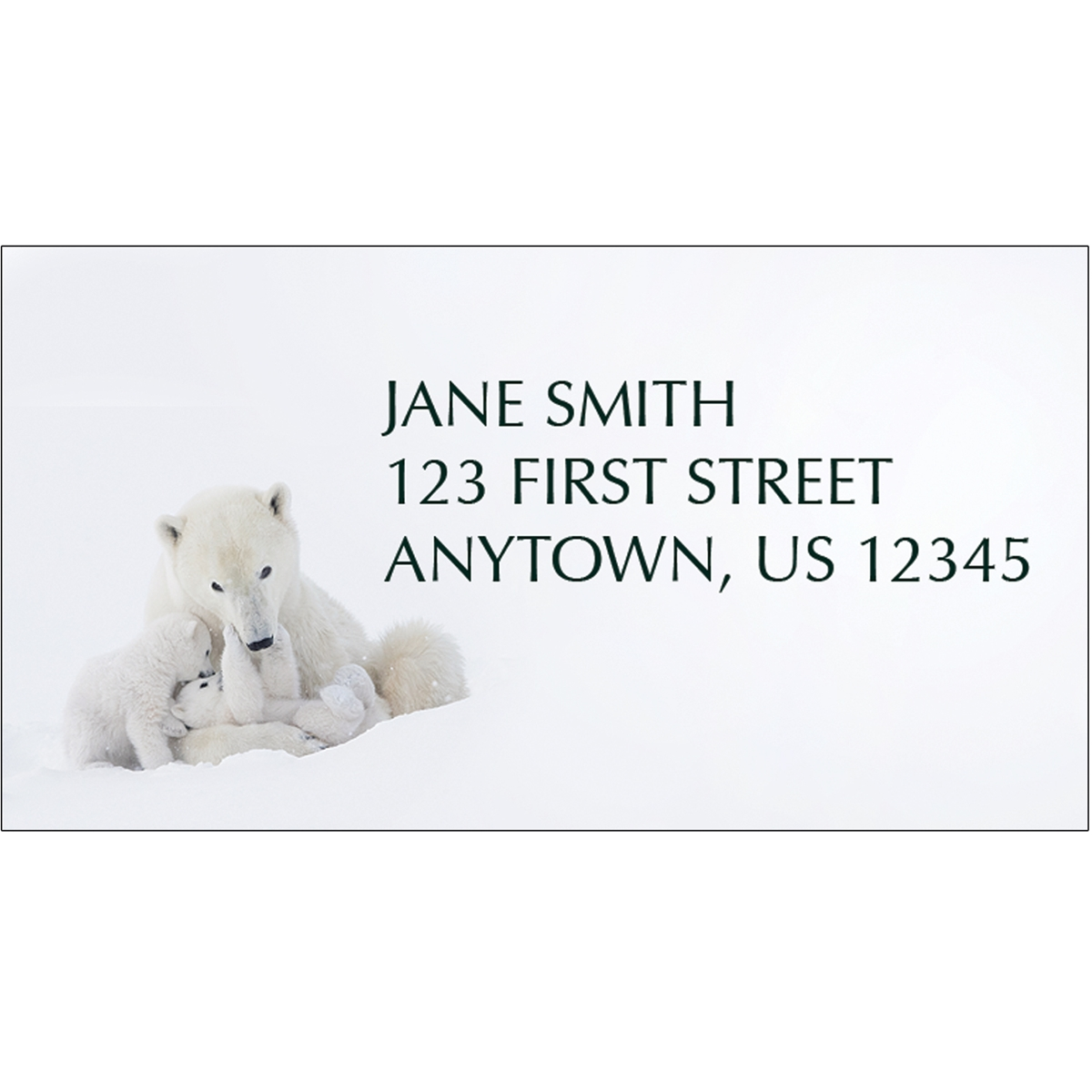 Family Bonding Address Label