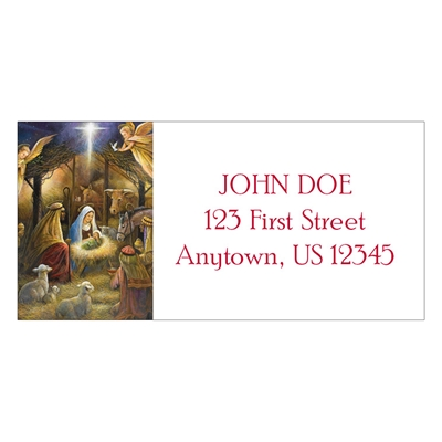 In the Manger Address Labels