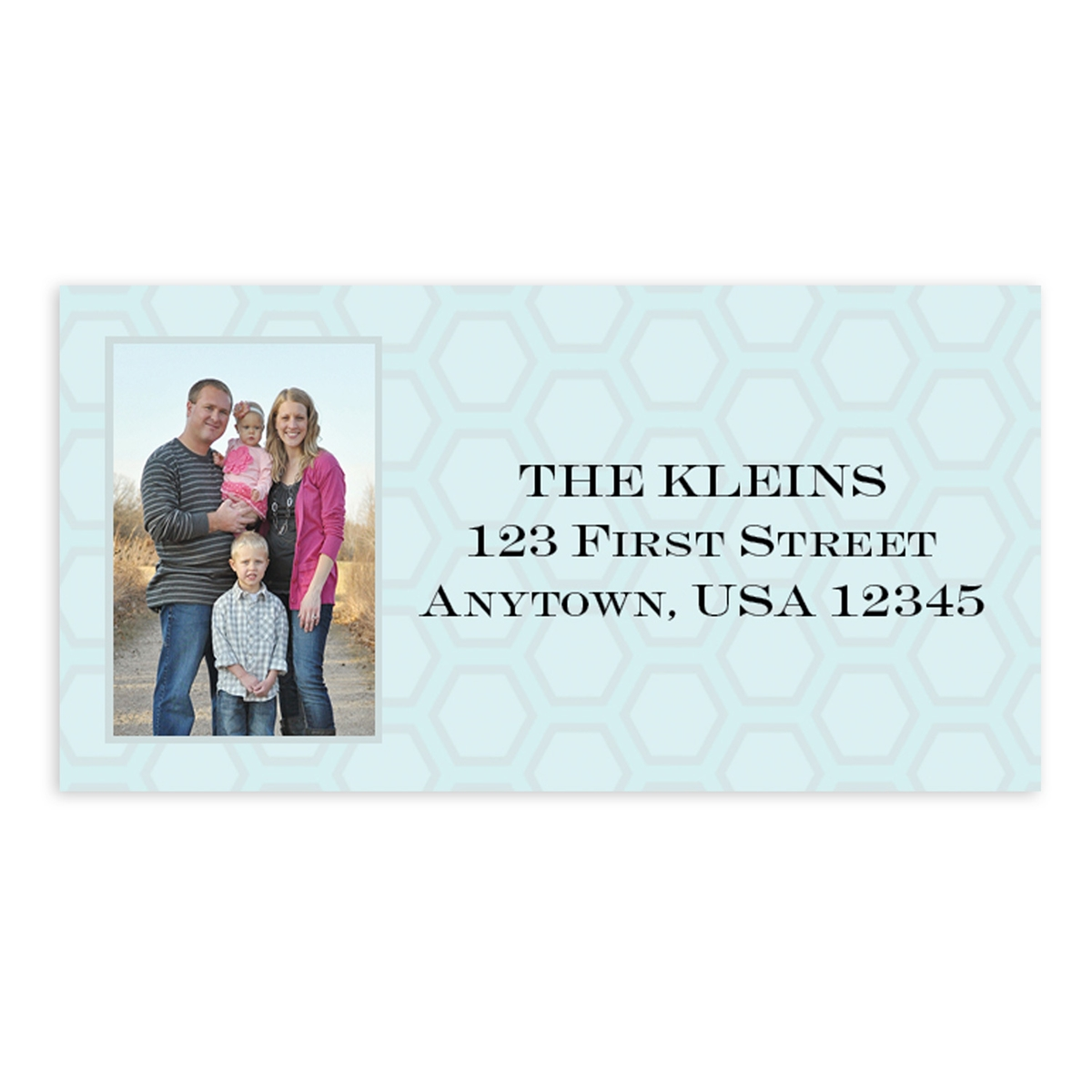 Photo Address Labels