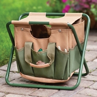 Garden Carry All and Stool