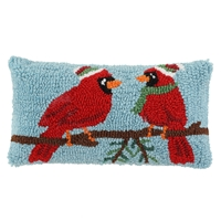Cardinal Accent Pillow