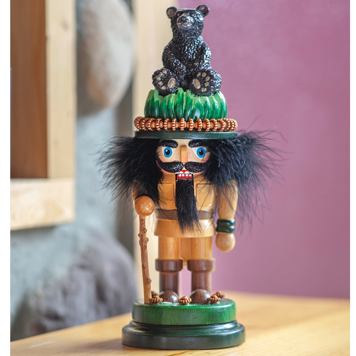 Hiker Nutcracker