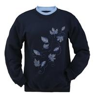 Cobalt Cascade Pullover