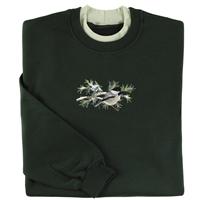 Chickadee on Pines Pullover