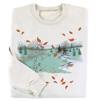 Fall Covered Bridge Pullover