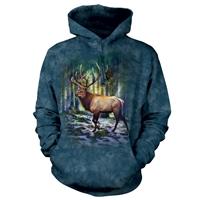 Sunlit Elk Hooded Pullover
