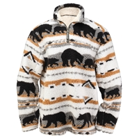 Bear Fever Pullover Jacket