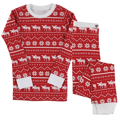 Nordic Moose Kids Pajama Set