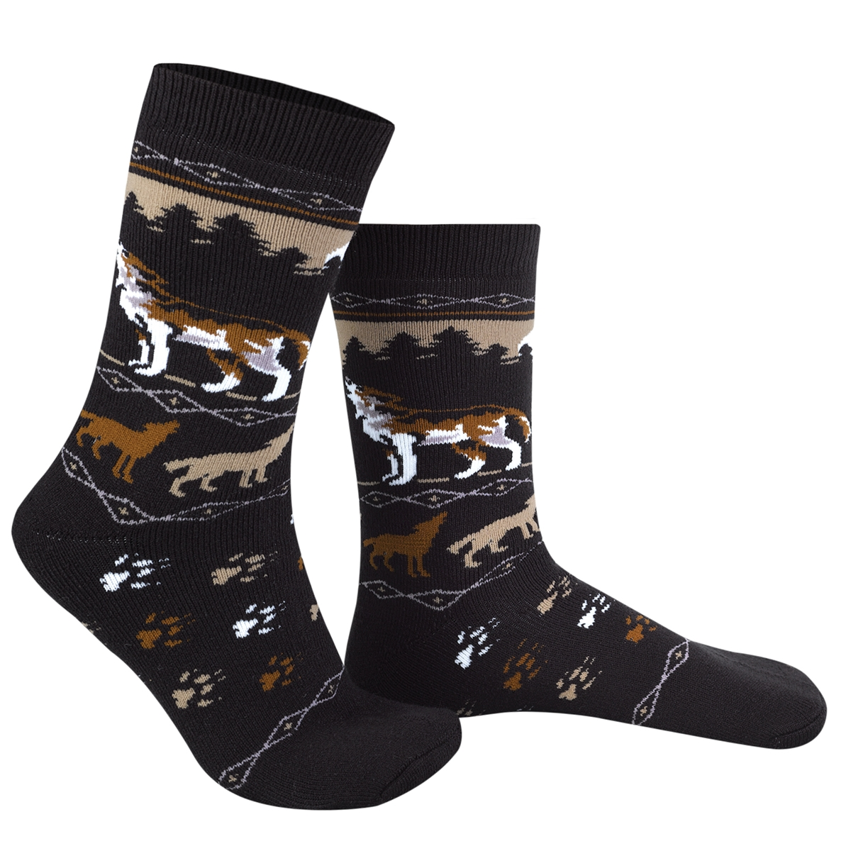 Howling Wolf Socks