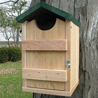 Screech Owl House Nest Box