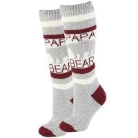 Papa Bear Sherpa Socks