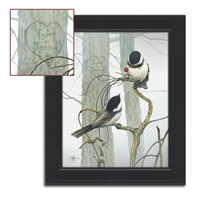 Chickadee Personalized Print