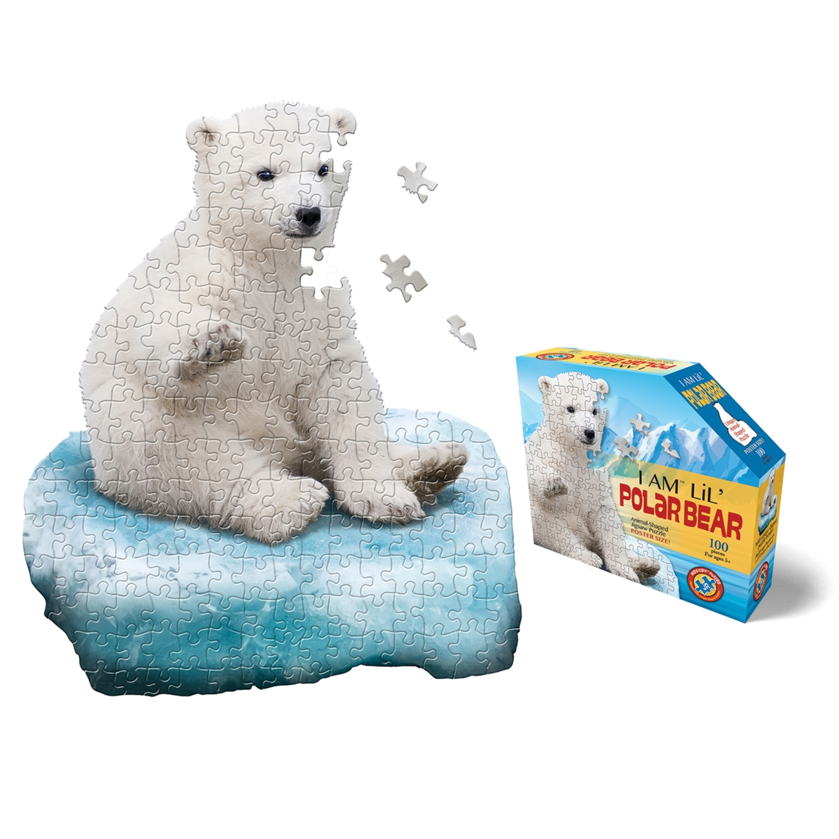 I am Lil' Polar Bear Puzzle