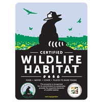 New Mexico Wildlife Federation Certified Wildlife Habitat Sign