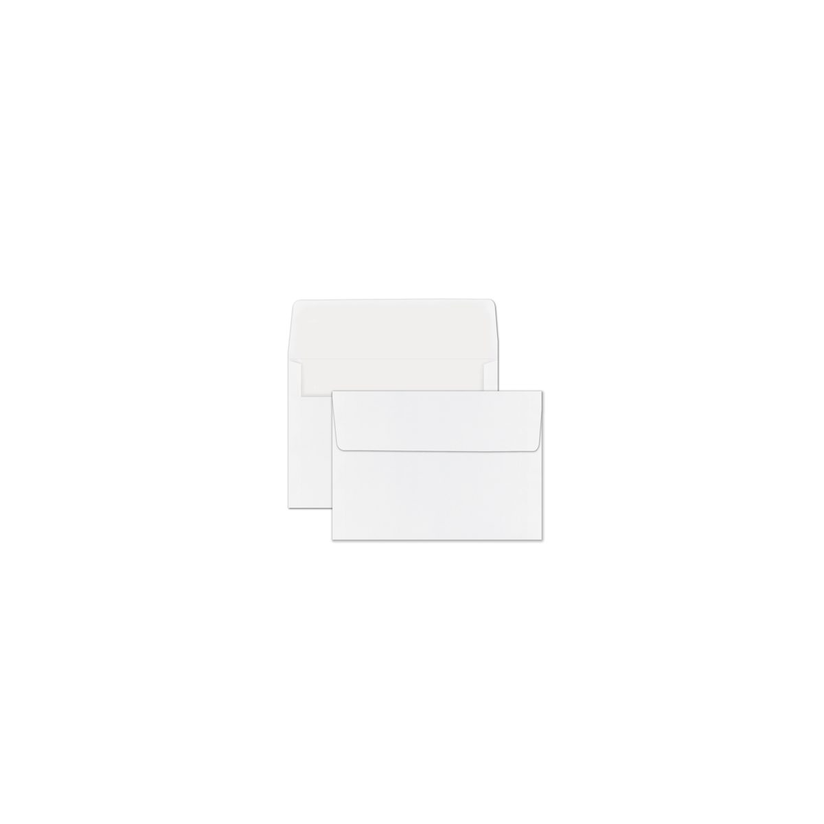 Unlined White Recycled Envelope - Blank
