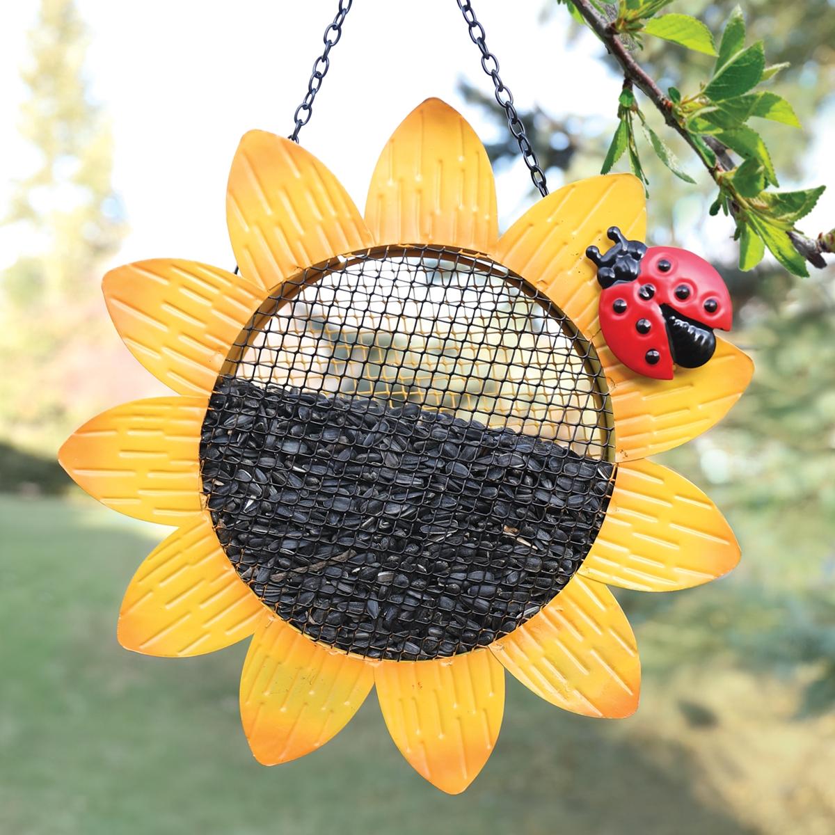 Sunflower Mesh Feeder
