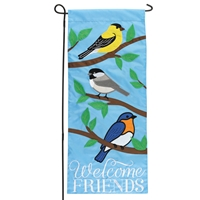 Welcome Friends Garden Flag