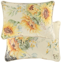 Sunflower Fields Pillow