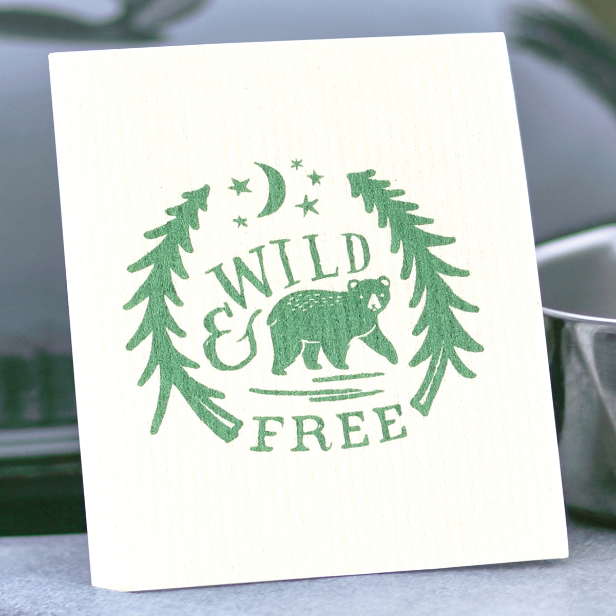 Wild and Free Swedish Dish Cloth