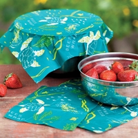 Oceans Print Reusable Food Wraps