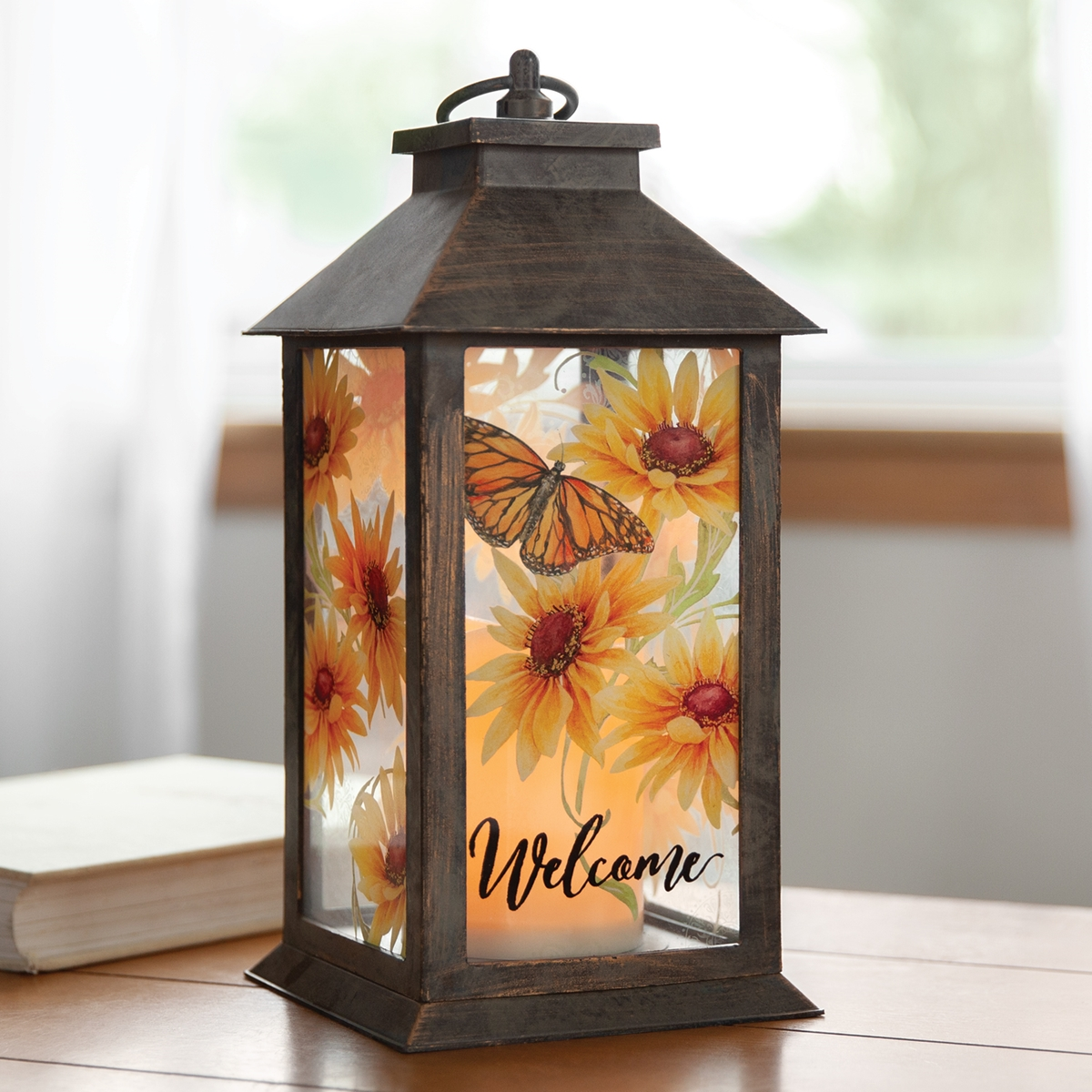Sun Drenched Blossom Lantern