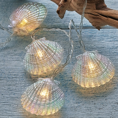 Scallop Shell String Lights
