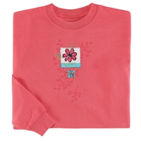Flower Patch Pullover