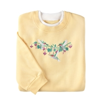 Playful Hummingbirds Pullover