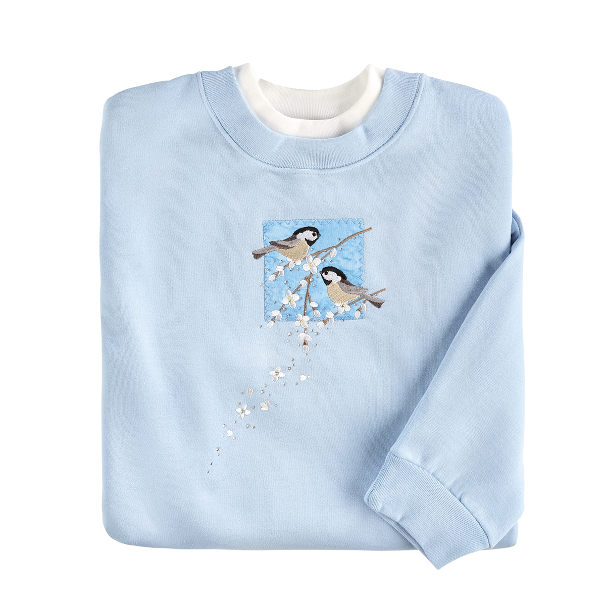Chickadee Patch Pullover