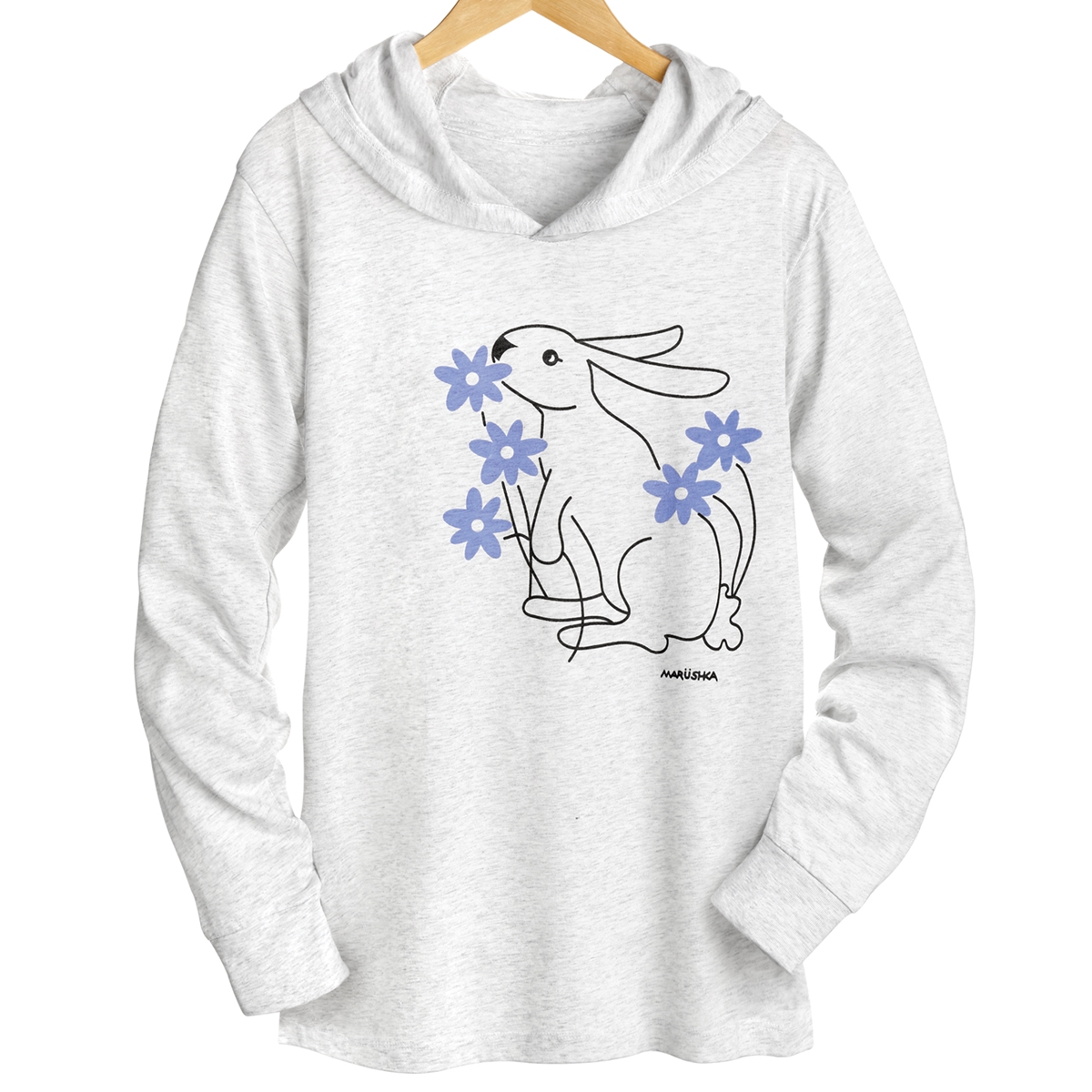 Spring Bunny Hooded Tee